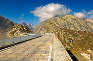 Grimsel Pass resevoirs - Swiss Alps - Switzerland .<br /> <br /> Visit our SWITZERLAND  & ALPS PHOTO COLLECTIONS for more  photos  to browse of  download or buy as prints https://funkystock.photoshelter.com/gallery-collection/Pictures-Images-of-Switzerland-Photos-of-Swiss-Alps-Landmark-Sites/C0000DPgRJMSrQ3U
