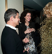 HARRY HANDELSMAN; MOLLIE DENT-BROCKLEHURST, Polly Morgan 30th birthday. The Ivy Club. London. 20 January 2010