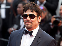 Un Certain Regard Jury president Benicio Del Toro at the Solo: A Star Wars Story gala screening at the 71st Cannes Film Festival, Tuesday 15th May 2018, Cannes, France. Photo credit: Doreen Kennedy