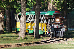 Forest Park Miniature Railroad in Forest Park,  Fort Worth, Texas, USA.