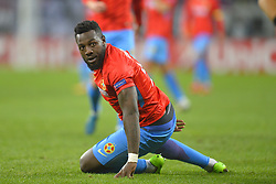November 2, 2017 - Bucharest, Romania - FCSB's Harlem Gnohere during the UEFA Europa League 2017-2018, Group Stage, Groupe G game between FCSB Bucharest (ROU) and Hapoel Beer-Sheva FC (ISR) at National Arena Stadium, Bucharest,  Romania, on 2 November 2017. (Credit Image: © Alex Nicodim/NurPhoto via ZUMA Press)