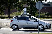 Nederland, Enschede, 3-10-2013Een auto van het bedrijf cyclomedia rijd over wegen en door straten om fotos te maken van de omgeving.Foto: Flip Franssen/Hollandse Hoogte