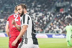 October 25, 2017 - Turin, Piemonte/Torino, Italy - Gonzalo Higuain (Juventus FC) during theSerie A: Juventus FC vs S.P.A.L. 2013 at Allianz Stadium. Juventus wins 4-1. Turin, Italy 25th october 2017 (Credit Image: © Alberto Gandolfo/Pacific Press via ZUMA Wire)