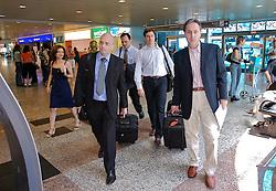 Equipe da transição de governo embarcapara Minas Gerais. FOTO: Jefferson Bernardes/Preview.com