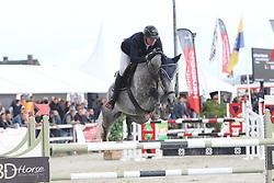Vlaminck Simon, BEL, Jorduna van de Kapel<br /> 6 years old Horses<br /> BK Young Horses Gesves 2021<br /> © Hippo Foto - Julien Counet