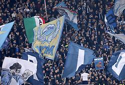 February 14, 2019 - Rome, Italy - SS Lazio v Fc Sevilla : UEFA Europa League Round of 32 .Lazio supporters at Olimpico Stadium in Rome, Italy on February 14, 2019. (Credit Image: © Matteo Ciambelli/NurPhoto via ZUMA Press)