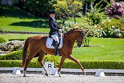 TASCHER Katharina (GER), Dressage Deluxe FB<br /> Dressurpferdeprüfung Kl. M - Einlaufprüfung 6 jährige Pferde<br /> Kronberg - Schafhof Dressurfestival 2020<br /> 26. Juni 2020<br /> © www.sportfotos-lafrentz.de/Stefan Lafrentz