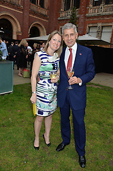 STUART ROSE and guest at the V&A Summer Party in association with Harrod's held at The V&A Museum, London on 22nd June 2016.