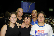 Birmingham, Great Britain, The Durso's, at the 2008 British Indoor Rowing Championships, National Indoor Arena. on  Sunday 26.10.2008 . [Photo, Peter Spurrier/Intersport-images] .