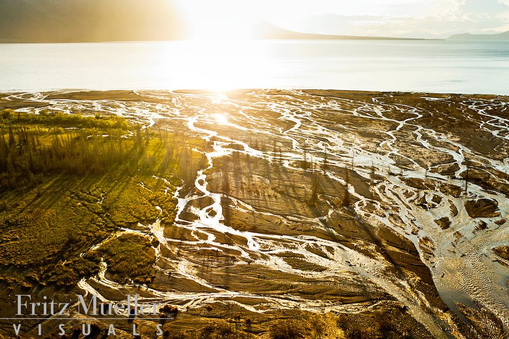 Silver Creek at Kluane Lake, Yukon