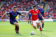 Barnsley midfielder Alex Mowatt (27) in action  during the EFL Sky Bet League 1 match between Barnsley and Luton Town at Oakwell, Barnsley, England on 13 October 2018.