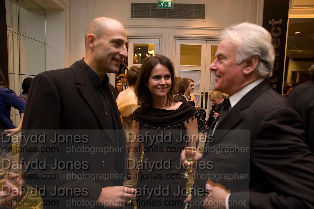 Mark Strong: ?: Sir Richard Eyre, The London Critics' Circle Film Awards 2009 in aid of the NSNCC. Grosvenor House Hotel . Park Lane. London. 4 February 2009