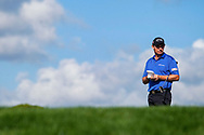 Mar 2, 2015; Palm Beach Gardens, FL, USA; Padraig Harrington waits to putt on the 13th green during the final round of the Honda Classic at PGA National GC Champion Course. Mandatory Credit: Peter Casey-USA TODAY Sports