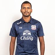 THAILAND - JUNE 07: Jonatan Reis #7 of Suphan Buri FC on June 07, 2019.<br /> .<br /> .<br /> .<br /> (Photo by: Naratip Golf Srisupab/SEALs Sports Images/MB Media Solutions)