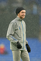 Football - 2020 / 2021 Premier League - Everton vs Sheffield United - Goodison Park<br /> <br /> <br /> Everton's Tom Davies during the pre-match warm-up <br /> <br /> <br /> COLORSPORT/TERRY DONNELLY