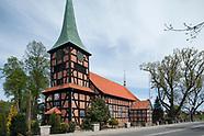 Stegna. Kościół szachulcowy z 1683 roku