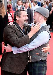 Edinburgh International Film Festival 2019<br /> <br /> Mrs Lowry (UK Premiere, closing night gala)<br /> <br /> Pictured: Angus Macfadyen and Richard Grey<br /> <br /> Alex Todd   Edinburgh Elite media