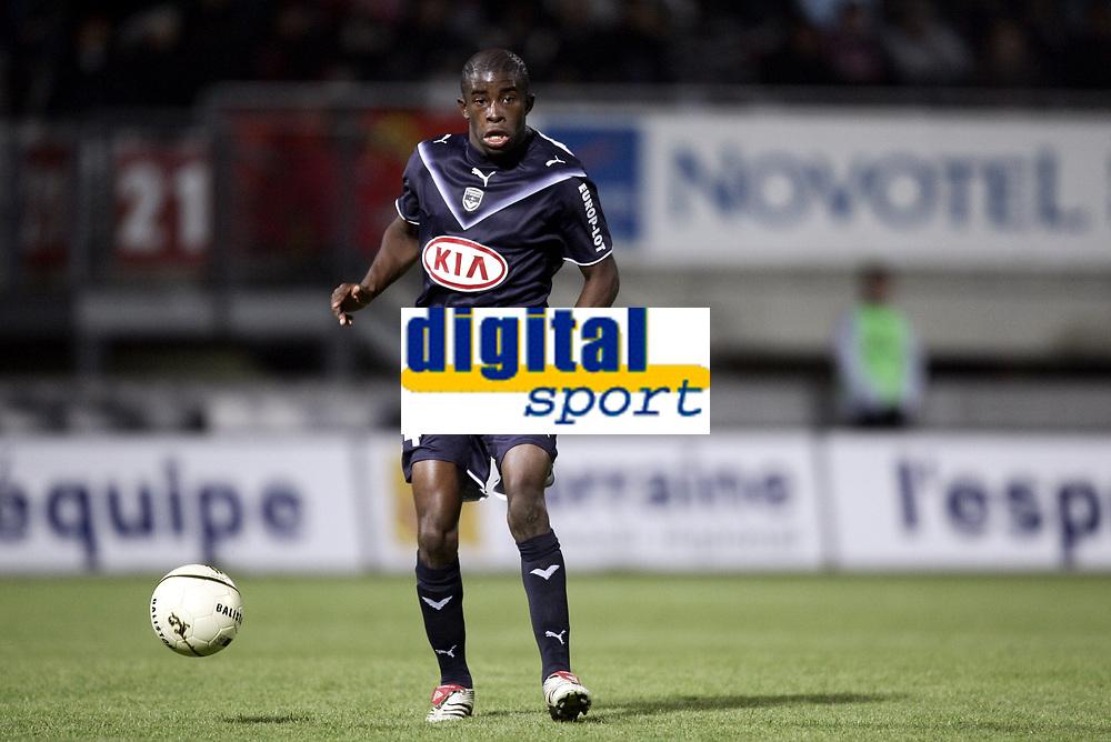Fotball<br /> Frankrike<br /> Foto: Dppi/Digitalsport<br /> NORWAY ONLY<br /> <br /> FOOTBALL - FRENCH CHAMPIONSHIP 2006/2007 - LEAGUE 1 - AS NANCY LORRAINE v GIRONDINS BORDEAUX - 05/11/2006 - RIO MAVUBA (BOR)