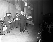 20/04/1970<br /> 04/20/1970<br /> 20 April 1970<br /> Tynagh Mines Dinner Dance at Loughrea, Co. Galway. The band gets going.