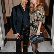 NLD/Amsterdam/20121112 - Beau Monde Awards 2012, Claudia van Zweden en partner Robert Schoemacher