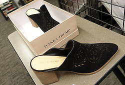 Ivanka Trump shoes are on display at the Pentagon city Nordstrom on February 9, 2017 in Arlington, Virginia. Nordstrom says it will stop selling Ivanka Trump clothing and accessories. Photo by Olivier Douliery/Abaca
