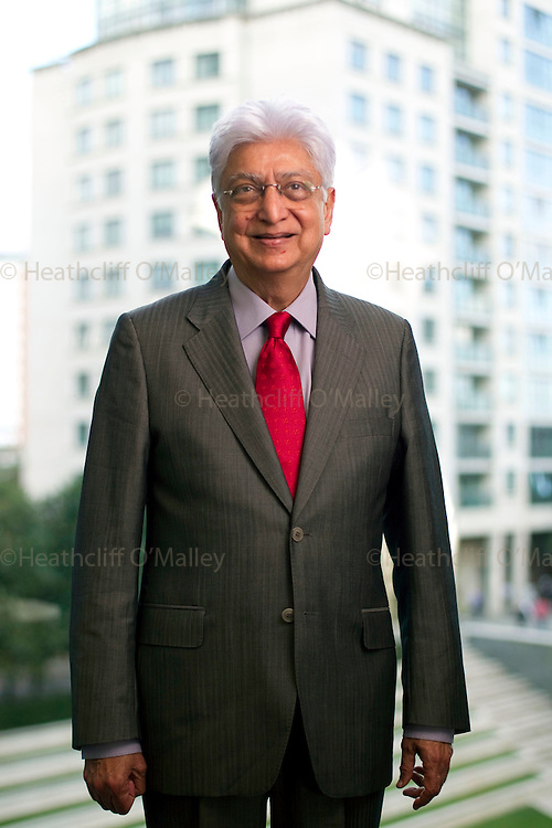 Hal0025272 . Sunday Telegraph..Business Interview..Azim Premji, business Tycoon and chairman of Indian IT group Wipro Technologies, one of India's largest software development companies...London 23 August 2010