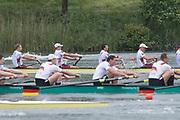 Lucerne, SWITZERLAND.<br /> <br /> Men's Eights Final. USA M8+. Bow. DOMMER Samuel, STRUZYNA Hans, KARWOSKI Alexander, OCHAL Glenn,<br /> KASPRZYK Stephen, DI SANTO Michael, MUNN Robert, HACK Austin and Cox OJSERKIS Samuel 2016 FISA WCII. Lake Rotsee<br /> <br /> Sunday  29/05/2016<br /> <br /> [Mandatory Credit; Peter SPURRIER/Intersport-images]