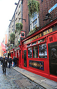 The Temple Bar traditional pub, city of Dublin, Ireland, Irish Republic