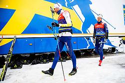 January 2, 2018 - Oberstdorf, GERMANY - 180102 Daniel Rickardsson of Sweden and Marcus Hellner of Sweden ahead of a training session during Tour de Ski on January 2, 2018 in Oberstdorf..Photo: Jon Olav Nesvold / BILDBYRN / kod JE / 160117 (Credit Image: © Jon Olav Nesvold/Bildbyran via ZUMA Wire)