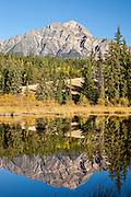 Pyramid Peak in Jasper National Park