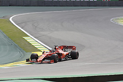 November 17, 2019, Sao Paulo, Brazil: SEBASTIAN VETTEL, of Scuderia Ferrari drives during the Formula One Grand Prix of Brazil 2019 at Interlagos circuit, in Sao Paulo, Brazil. (Credit Image: © Paulo Lopes/ZUMA Wire)