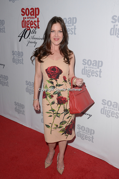 KIRA REED LORSCH at Soap Opera Digest's 40th Anniversary party at The Argyle Hollywood in Los Angeles, California