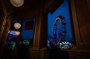 At the Vienna Prater amusement park