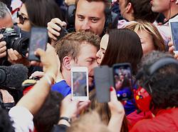 April 29, 2018 - Baku, Azerbaijan - Motorsports: World Championship; 2018; Grand Prix Azerbaijan, Grand Prix of Europe, Formula 1 2018 Azerbaijan Grand Prix, .#7 Kimi Raikkonen (FIN, Scuderia Ferrari) (Credit Image: © Hoch Zwei via ZUMA Wire)
