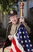 November 9, 2020, Fallbrook, California_USA_| Portrait of 101 year veteran Betty Gilby at her Fallbrook home. |_Photo Credit: Photo by Charlie Neuman