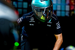 May 11, 2017 - Barcelona, Spain - Motorsports: FIA Formula One World Championship 2017, Grand Prix of Spain, .mechanic of Mercedes AMG Petronas F1 Team  (Credit Image: © Hoch Zwei via ZUMA Wire)