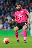Peterborough's Michael Bostwick in action. The Emirates FA Cup, 4th round match, West Bromwich Albion v Peterborough Utd at the Hawthorns stadium in West Bromwich, Midlands on Saturday 30th January 2016. pic by Carl Robertson, Andrew Orchard sports photography.