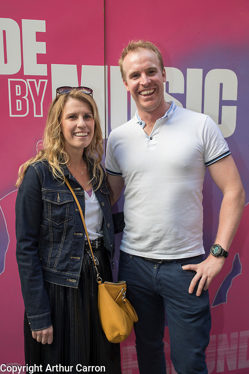 26/6/19 Erika and Mathew Farrell, Raheny, at the launch of the Black Bank Folks new album Last Star Fall, at Lost Lane, Dublin, available in store and online from June 28th. Picture: Arthur Carron