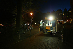 VZA is one of the two ambulance services in amsterdam, the netherlands.