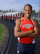 Albemarle's Ross Bolden, who signed with Radford University , has won back-to-back 400 meter titles in the Northwest Region.