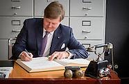 dag 4 Koning Willem-Alexander en Koningin Maxima brengen een werkbezoek aan de Duitse