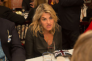 TRACEY EMIN, Charles Finch and  Jay Jopling host dinner in celebration of Frieze Art Fair at the Birley Group's Harry's Bar. London. 10 October 2012.