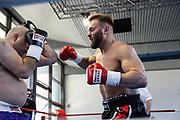 Boxen: Giants Professional Boxing, Session 3, Hamburg, 17.04.2021<br /> Felix Langberg (GER) - Dusko Vujicic (GER)<br /> © Torsten Helmke