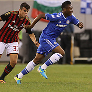 Mikel, Chelsea, in action during the Chelsea V AC Milan Guinness International Champions Cup tie at MetLife Stadium, East Rutherford, New Jersey, USA.  4th August 2013. Photo Tim Clayton