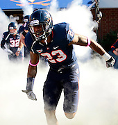 Oct. 22, 2011 - Charlottesville, Virginia - USA; Virginia Cavaliers cornerback Dom Joseph (23) during an NCAA football game against the North Carolina State Wolfpack at the Scott Stadium. NC State defeated Virginia 28-14. (Credit Image: © Andrew Shurtleff