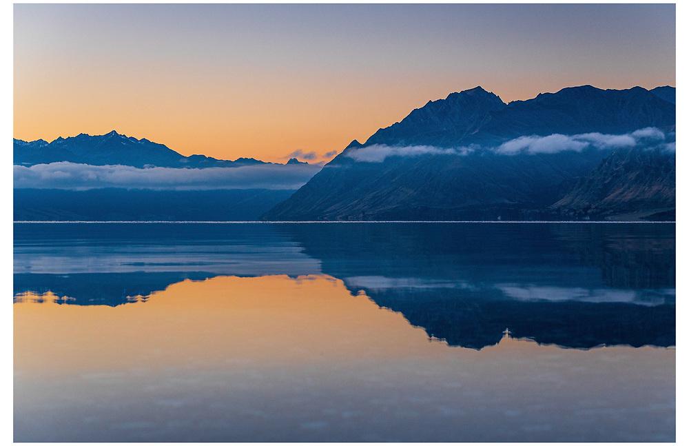 Lake Hawea, Otago.