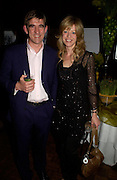 Alice Hart-Davis and her husband . Book launch for Dr. Joshi's Holistic Dett. The Arts Club, 40 Dover st. London. 26 May 2005. ONE TIME USE ONLY - DO NOT ARCHIVE  © Copyright Photograph by Dafydd Jones 66 Stockwell Park Rd. London SW9 0DA Tel 020 7733 0108 www.dafjones.com