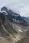 The Alaska Range in Denali National Park.