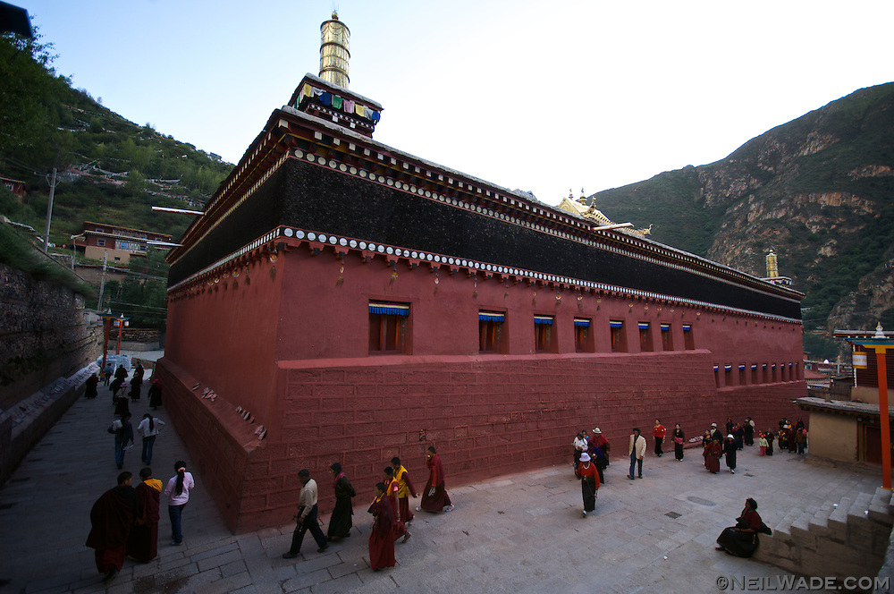 The holy Barkhang (Parkhang) Printing Press in Dege (Derge), Tibet (China).