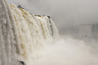 The raw fury and power of mother nature captured at the Iguazu Falls, Brazil.